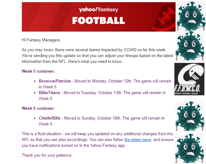 2020-10-09 14_53_37-Fantasy Football_ Latest COVID News - blongville83@gmail.com - Gmail